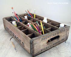 Vintage Chokola Beverages Crate by OldTimePickers on Etsy, $25.00