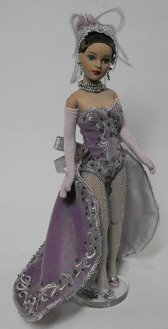 Tonner Tiny Kitty Lavender Showgirl MDCC LE 500