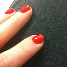 Haute Red Orly Gel FX!