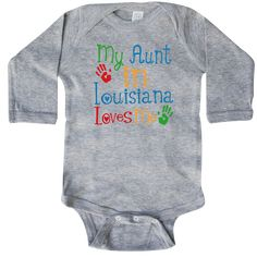 inktastic Grandparents Day I Love My Oma Long Sleeve Creeper