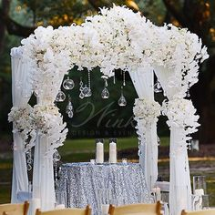 Custom floral arbor #winkdesignandevents #winkevents #winkwedding #winkedout #wedding #design #decor #weddingreception #weddingplanner #weddingdesigner #floral #arbor #centerpieces #fab #nola #elegantwedding #weddingplanning #eventmanagement #instawedding #nolawedding #luxurywedding #southernwedding #classywedding #neworleanswedding #weddinginspiration