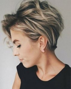 Would you like to experiment with your hair? Choose a beautiful shag haircut and… Would you like to experiment with your hair? Choose a beautiful shag haircut and feel the most confident. Long Pixie Cuts, Short Hair Cuts For Women, Short Hairstyles For Women, Hairstyle Short, Hair Updo, Short Pixie, Long Pixie Hairstyles, Curly Pixie, Short Cuts