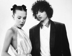 Millie Bobby Brown and Finn Wolfhard (NOT FILLIE SORRY I DONT SHIP IT! I actually don't ship Millie with anyone. She is an independent and beautiful girl who doesn't deserve all this drama! Watch Stranger Things, Stranger Things Actors, Stranger Things Aesthetic, Stranger Things Netflix, Millie Bobby Brown, Prince Charmant, Film Serie, Celebs, Celebrities