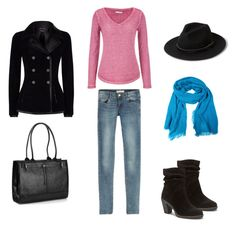 casual outfit by liliana-vaccara on Polyvore featuring moda, maurices, Alexander McQueen, Vince Camuto, Buxton, MANGO and Jane Norman