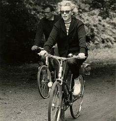 My angel riding her bike ❤❤❤❤#MarilynMonroe #NormaJeane #Hollywood #classic #vintage #1950s #OldHollywood #1960s #immortal #icon #idol #Marilynette #Manroes #MM #yourdailymarilyn #marilyn #pinup #normajeanebaker #actress #queen #beautiful #love #followme