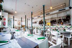 Restaurantes  do Mundo: Restaurante Bacira,cozinha mediterranea,Madrid,Esp...