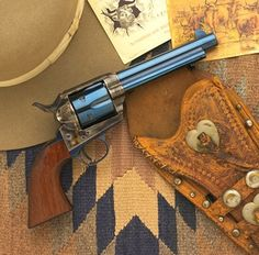 The Colt Peacemaker, the gun that won the West!