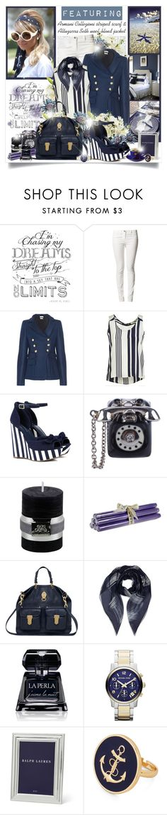 """""""Into The Ocean Blue"""" by mrstom ❤ liked on Polyvore featuring WALL, Altuzarra, Jenni Kayne, Sole Society, Miss Bibi, Lene Bjerre, True Grace, Mulberry, Armani Collezioni and La Perla"""
