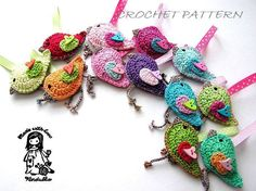 Spring birdie pattern
