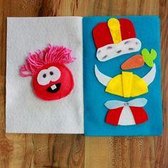 Club Penguin: Felt Puffle Quiet Book | Spoonful - DIY