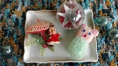 Check out this item in my Etsy shop https://www.etsy.com/listing/474524596/3-mid-century-christmas-ornaments-set-of
