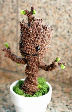 Crochet For Free: Crochet Groot