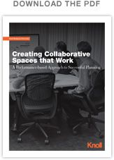 Creating Collaborative Spaces that Work | Workplace Research | Resources | Knoll