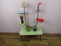 Vintage Blumenbank / Blumentisch / von ShabbRockRepublic auf Etsy