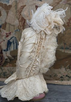 Rare Superb Antique French Original Bonnet for Jumeau Bru Steiner Eden from respectfulbear on Ruby Lane