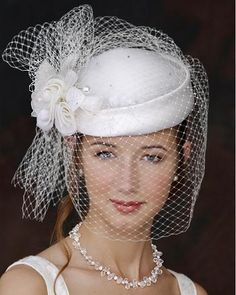 different kinds of hats | The Pillbox Hat, a New Wedding Hair Accessory Trend?