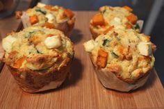 Lady Bear: Pumpkin & Feta Muffins