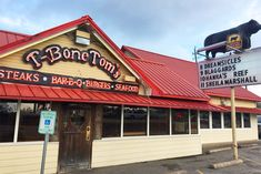 T-Bone Tom's is the best in Kemah, TX for great food and a haven for Trop Rock music.