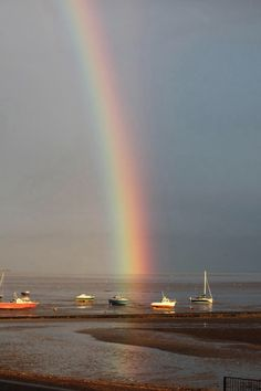 A photo taken and tweeted by Jay - Rainbow at Southend