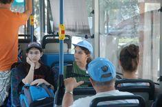 https://flic.kr/p/2XLxZk   Molly and Rachel on Egged Bus in Haifa Israel   Molly and Rachel on Egged Bus in Haifa - 28 August 2007