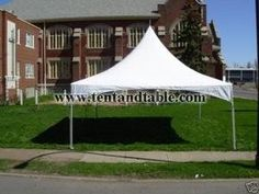 Party Tent Heavy Duty Vinyl White 10 X 20 High Peak Frame Tent Free Shipping * Be sure to check out this awesome product.