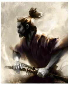 Samurai by Alex Faic
