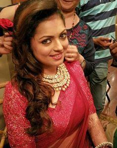 Drashti Dhami getting ready for her wedding.