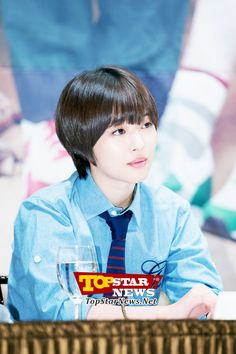 f(x) Sulli is so pretty with her new hair…'To the Beautiful You' Production Report Conference [KDRAMA] To The Beatiful You, Sulli, Korean Drama, New Hair, Kdrama, Hairstyle, Japanese, Conference, Pretty