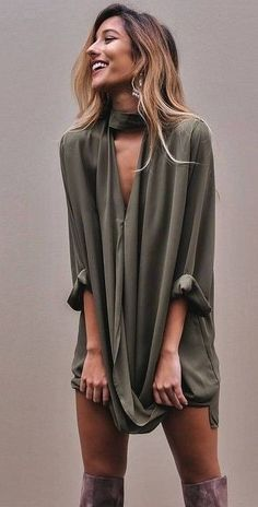 #summer #flirty #outfitideas | Olive Perfect Little Dress