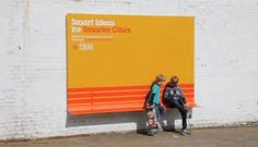 Smart Billboards by IBM These billboards by creative agency Ogilvy & Mather can be used as street furniture. Designed for IBM's Smarter Cities campaign, they fuse advertising with helpful additions to. Urban Furniture, Street Furniture, Furniture Design, Smart Furniture, City Furniture, Creative Advertising, Advertising Ideas, Guerrilla Advertising, Ogilvy Mather