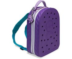 Crocband™ Backpack/lunchbag 2.0   Kids' Accessories   Crocs Official Site.  Jibbitz go in the holes.  Jibbitz coming up next...