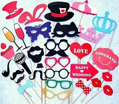 2016 New Fun Photo Booth Prop Colorful Card Wedding Decoration Wedding Favors And Gifts Event And Party Supplies Funny Photo Booth, Wedding Photo Booth Props, Props Photobooth, Champagne Wedding Favors, Wedding Party Favors, Diy Party Mask, Fun Photo, Accessoires Photo, Dou Dou