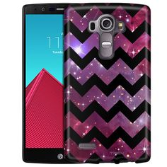 LG G4 Chevron Nebula Black Slim Case