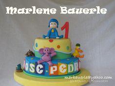 Birthday Cake, Desserts, Food, Pocoyo, Tailgate Desserts, Deserts, Birthday Cakes, Essen, Postres