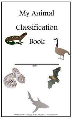 Click to download PDF - Animal Classification Booklet