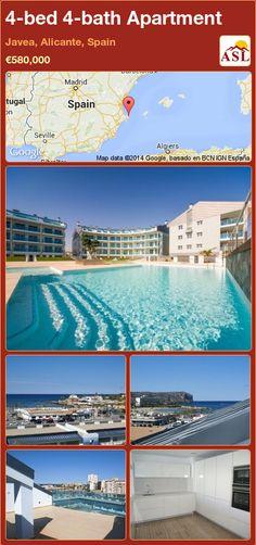 4-bed 4-bath Apartment in Javea, Alicante, Spain ►€580,000 #PropertyForSaleInSpain