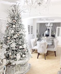 "5,522 Likes, 61 Comments - Interior & Design Inspiration (@classyinteriors) on Instagram: ""November 1. is it right time to get excited about Christmas? Credit: @toni_interior ✨ ▫️ ▫️ ▫️ ▫️…"""
