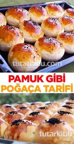 Pamuk Poğaça Tarifi – Vegan yemek tarifleri – Las recetas más prácticas y fáciles Tasty Bread Recipe, Recipe T, Delicious Cake Recipes, Yummy Cakes, Healthy Cake, Vegan Cake, Bakery Recipes, New Recipes, Beignets