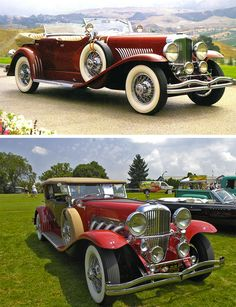 The 1929 Duesenberg Model J and SJ: Notable as America's attempt to one-up Rolls-Royce. The production run for 1929 was 200 units. The price of these cars in 1929 ranged between $13,000 and $25,000. The highest priced for a 1929 Duesenberg Model J at auction was $2,090,000 in 2014.