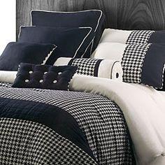 pretty houndstooth bedding