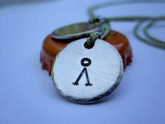 earth symbol pendant