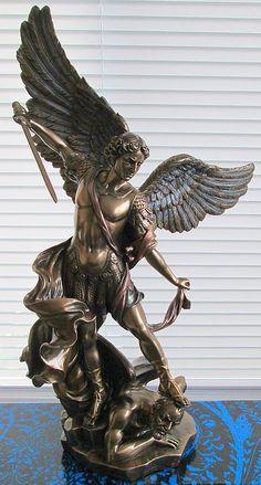st michael archangel statue