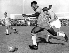 Pele is the most iconic footballer of the twentieth Century. He epitomised the flair, joy and passion the Brazilians bought to the game.  Pele's career spanned throughout the 1950s, 1960s and 1970s.  In his early career, the young and unknown Pele helped inspire Brazil to victory in the 1958 World Cup. In 1962, Brazil retained the World Cup. In 1966, Brazil were hot favourites, but, lost out to the home nation England.  His crowing glory was the Brazilian victory in the 1970 World Cup in…