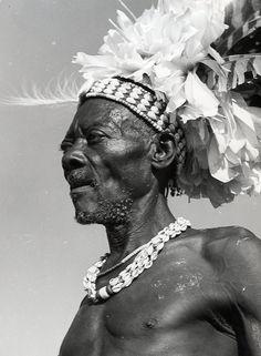 Africa   A Bakuba warrior. Belgium Congo. ca. 1959   ©C. Lamote