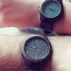 Zawsze razem😍 #ekocraft #ecocraft #wood #woodwatch #watch #watches #madeinpoland #zegarki #drewno #drewnianezegarki #zegarek #zawszerazem