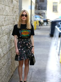 Skirt and T-shirt | Annabel