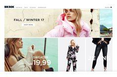 """Bik Bok ist die Anlaufstelle für junge Fashionistas in Skandinavien – glücklicherweise liefert der Onlineshop des günstigen Trendlabels, das 1973 in Norwegen gegründet wurde, aber auch nach Deutschland. Zu finden gibt es hier jede Menge typische """"Skandi""""-Styles sowie Schmuck und Accessoires. Wer Styling-Inspiration sucht, sollte unbedingt auf dem Bik Bok Instagram Account vorbeischauen. Biker, Shops, Sweaters And Jeans, Trends, Fall Winter, Glamour, Movie Posters, Inspiration, Shopping"""
