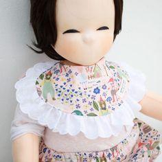 Cute Newborn Baby Bib Frilly Bib Lace Cotton Infant Toddler Handmade Eb229 #Ggoomduboo
