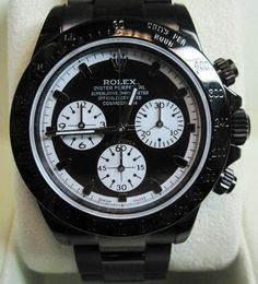 Rolex Daytona DLC/PVD Paul Newman Face - WOW ! Box & Papers
