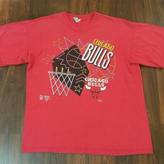 Vintage 1990s Chicago Bulls Retro Tee and Jerseys available on Etsy at www.JustOneVintage.com Instagram @justonevintage #LosClasicos